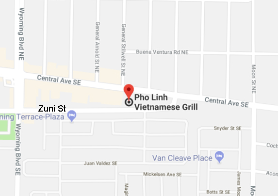 Map of Pho Linh