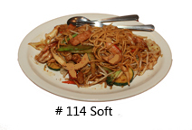 Stir Fried Noodles Soft